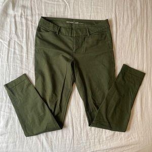 Green old navy dress pant